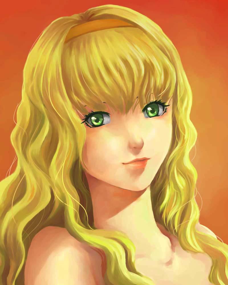 800x997 Blonde Girl Rumica Llywellyn By Rozelque