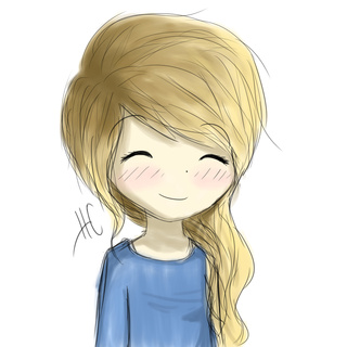 blonde girl drawing at getdrawings com free for personal use