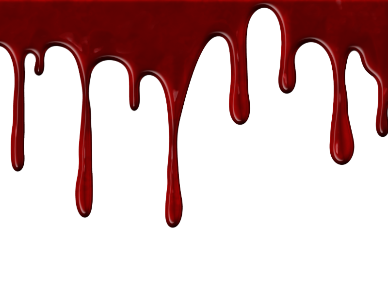 800x600 Gallery Dripping Blood Transparent Background,