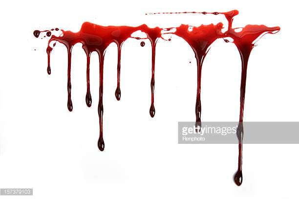612x408 Photos Realistic Blood Dripping Gif,