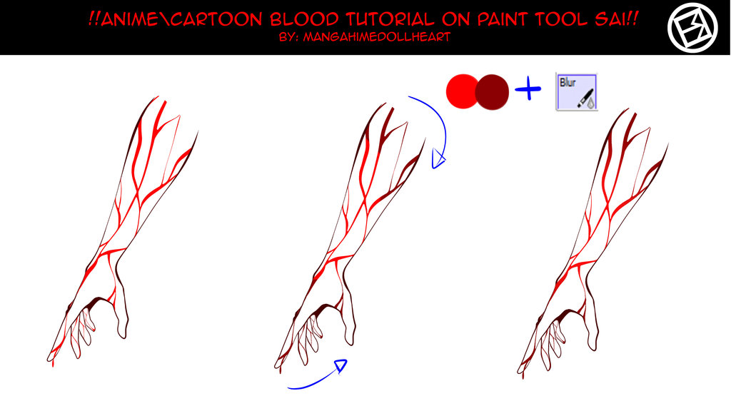 1024x569 Tutorial Texture Blood Scars On Drawing Tutorial