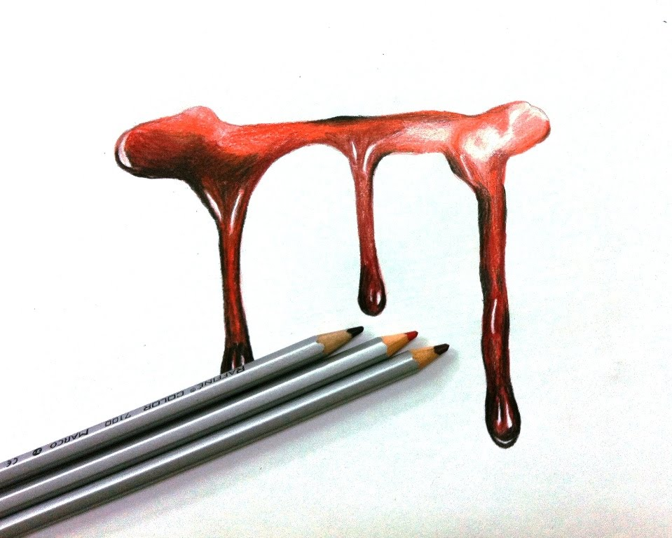 959x768 How To Draw Realistic Dripping Blood
