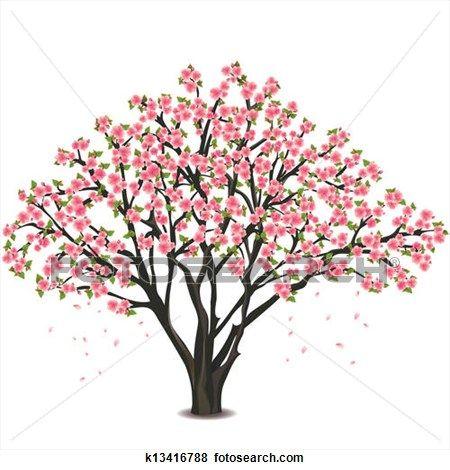 450x470 Pin By Sue Edkins On Cherry Tree Art Tree Art
