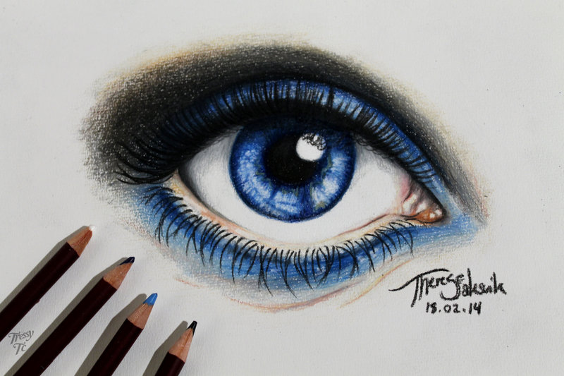 blue eye drawing at getdrawings com free for personal use blue eye