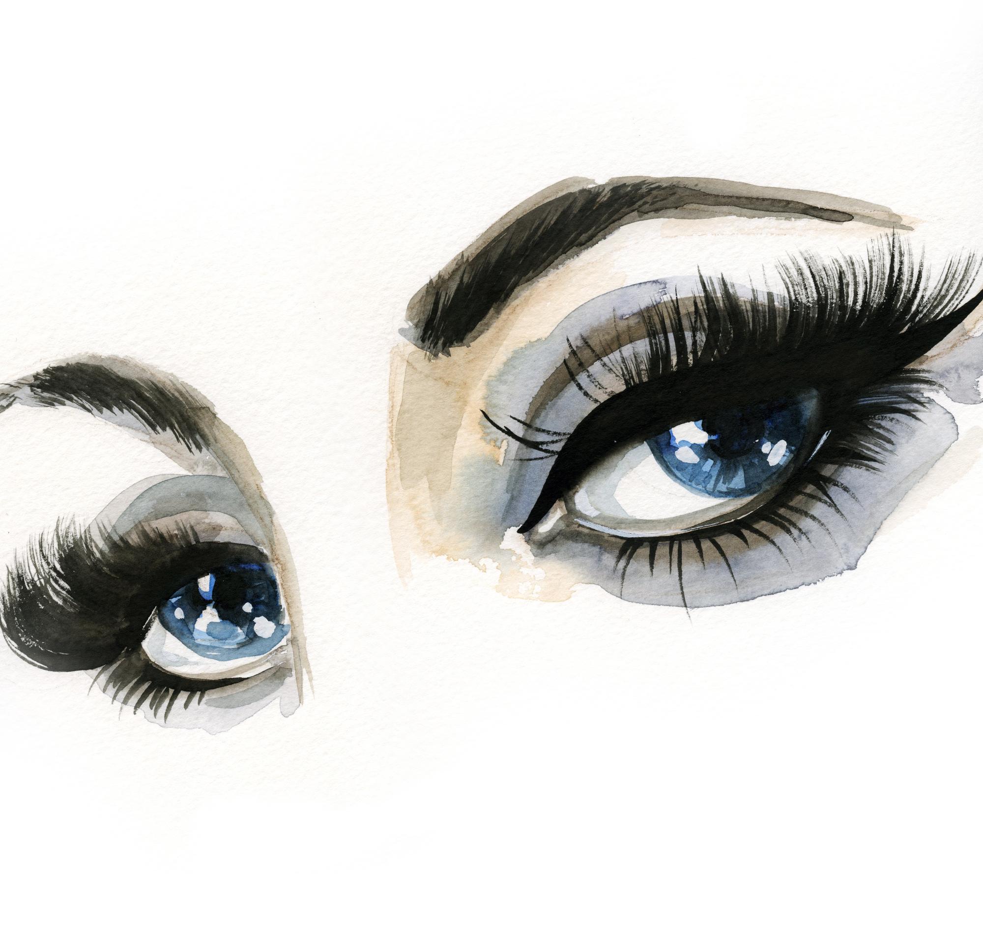 2000x1899 Ice Blue Eyes Luda Stekol