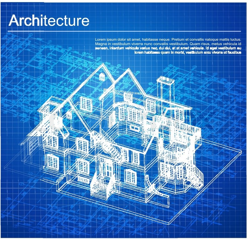 Blue print drawing at getdrawings free for personal use blue 800x764 urban blueprint vector architectural background part of malvernweather Images