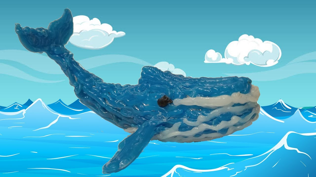 1280x720 Blue Whale Drawing With 3d Pen Video For Kids