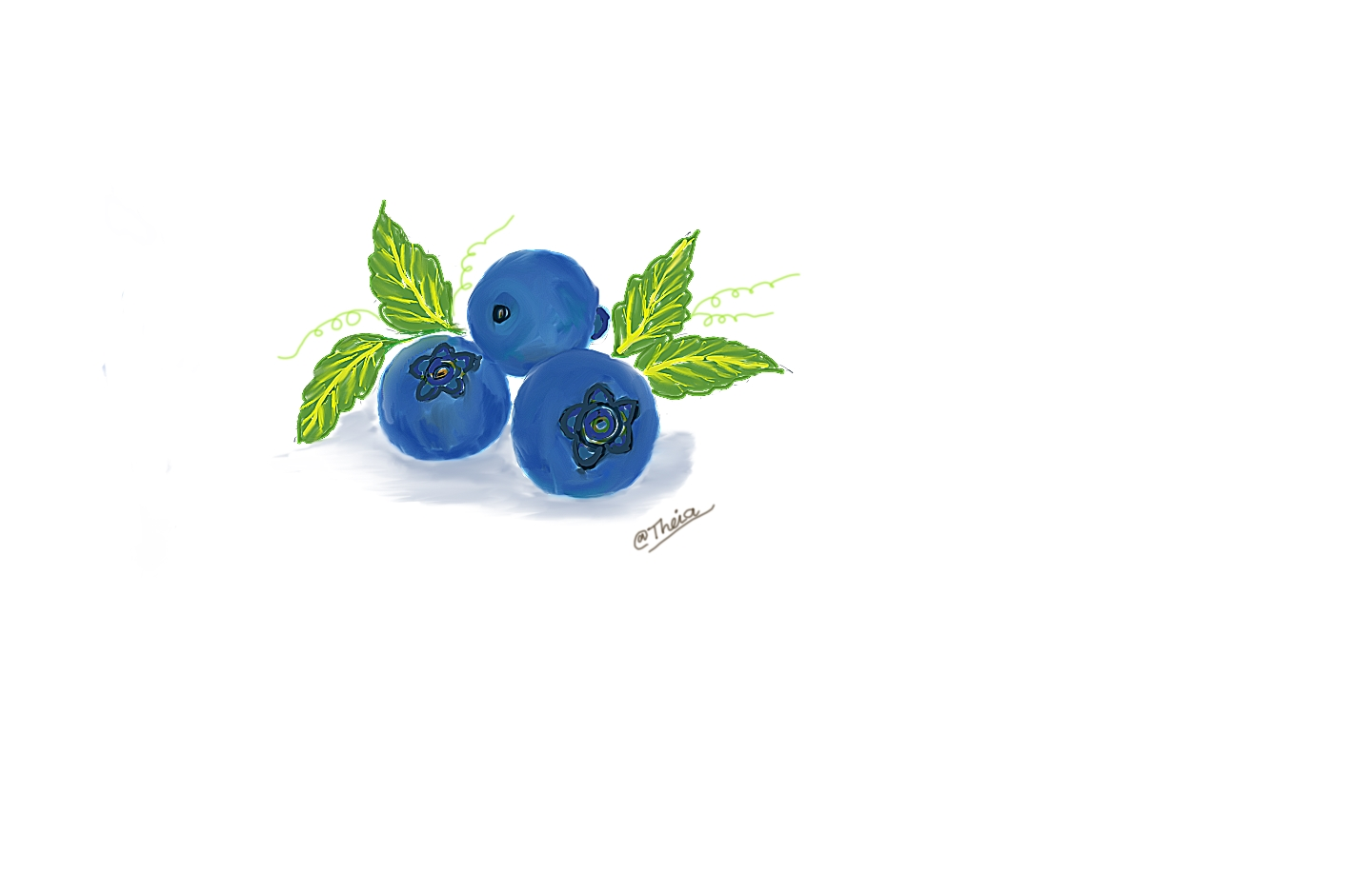 1440x917 Drawing Challenge 3 Blueberrye Of The Healthiest Fruits