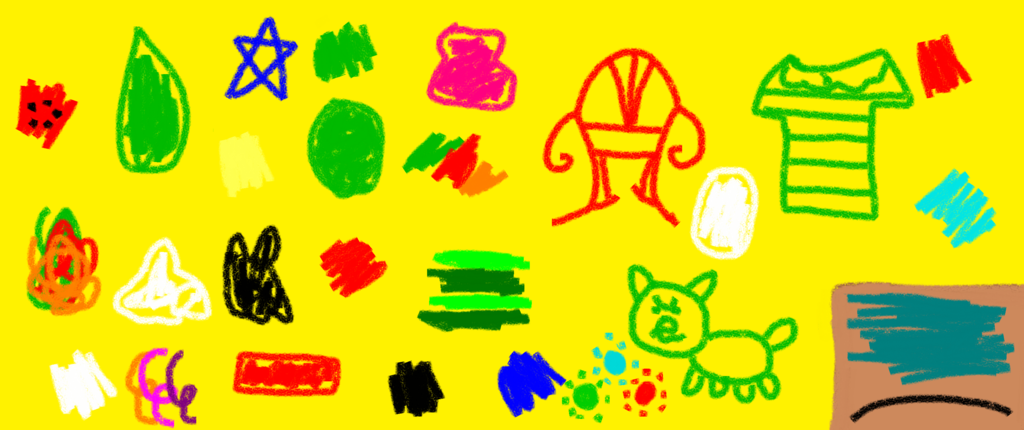 1024x430 Blue's Clues Notebook Drawing With Colors By Titan994
