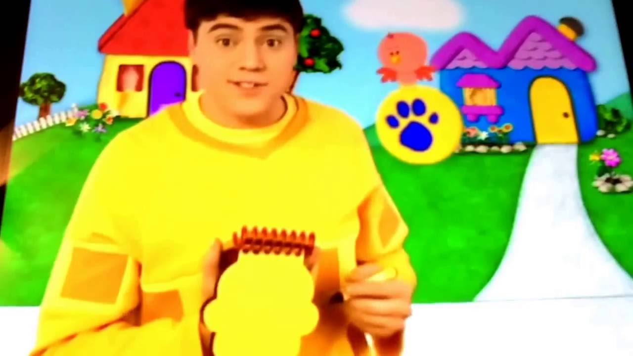 1280x720 Blue's Clues Notebook Drawings Seasons 5 And 6