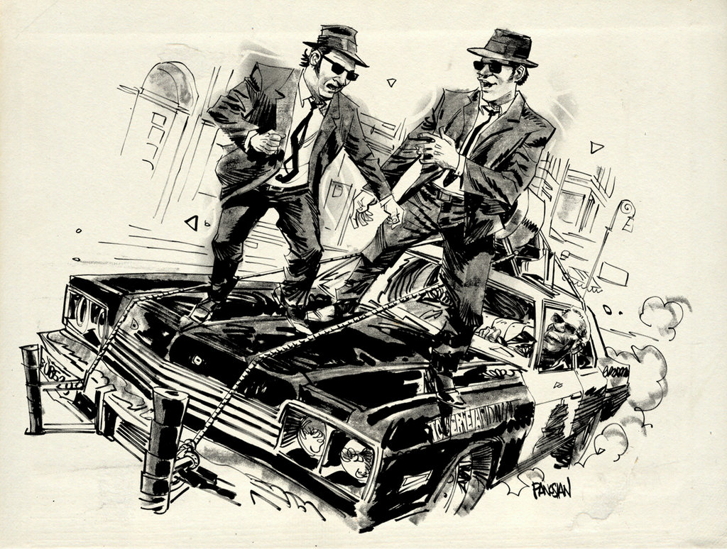 1024x774 Blues Brothers! By Urban Barbarian