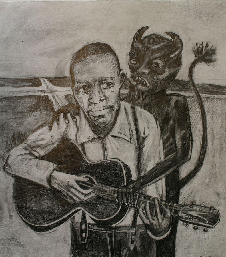 791x900 Robert Johnson Blues Drawings Fine Art America