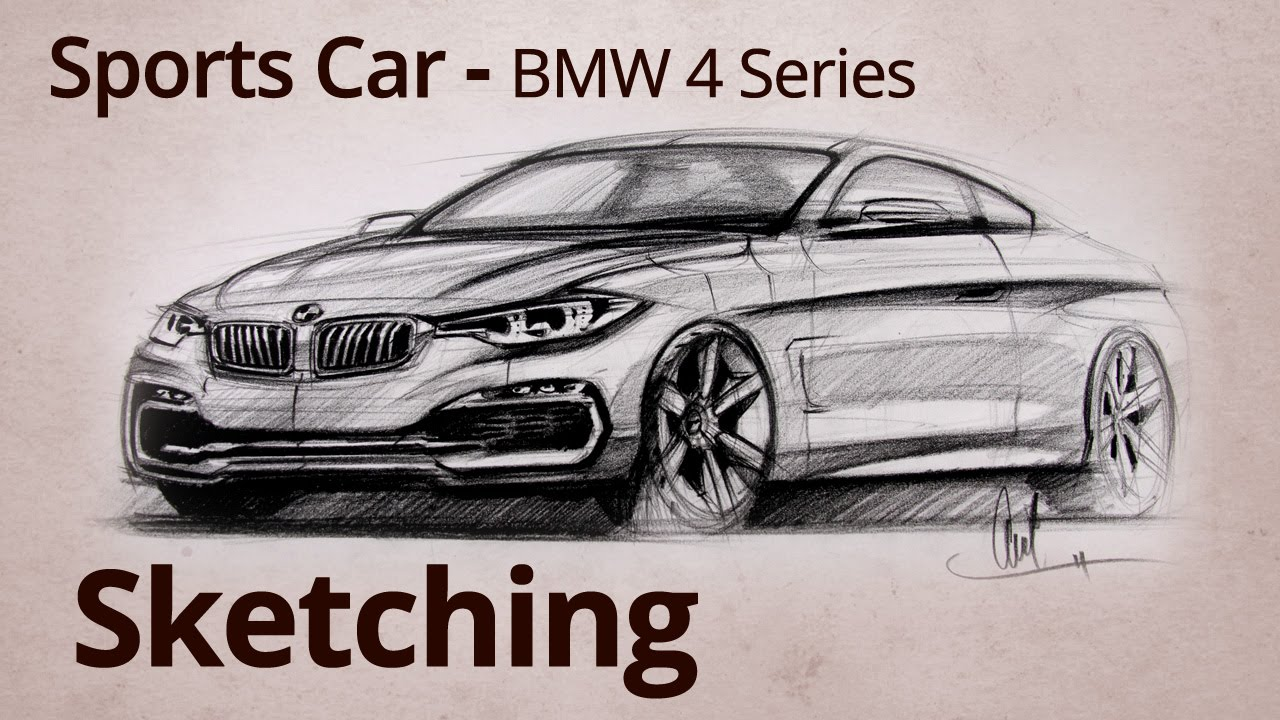 Bmw Car Drawing at GetDrawings.com   Free for personal use Bmw Car ...