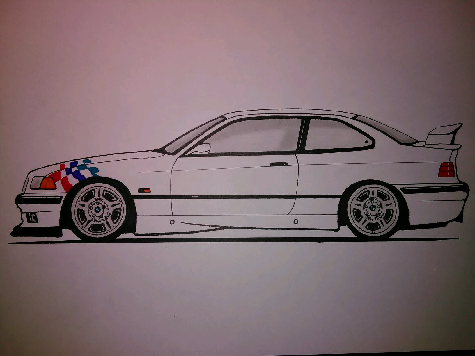 Bmw M3 Drawing At Getdrawings Free Download