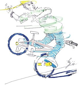 274x300 Bmx Drawings Fine Art America