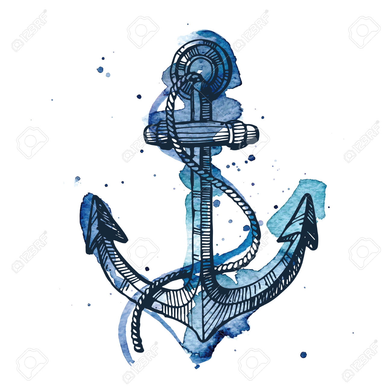 1300x1300 13,779 Boat Anchor Stock Illustrations, Cliparts And Royalty Free