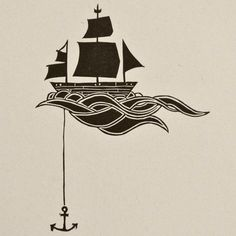 236x236 Possible Next Tattoo With The Saying Calm Seas Does Not A Skilled