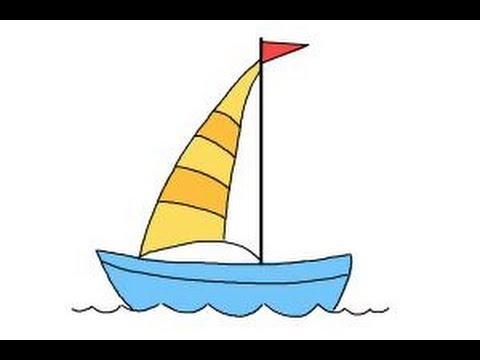 480x360 How To Draw A Simple Boat