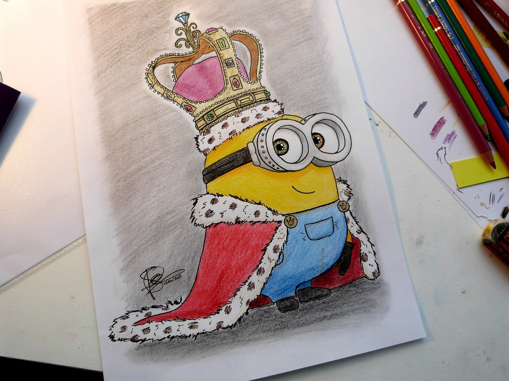 Bob Minion Drawing at GetDrawings.com | Free for personal ...