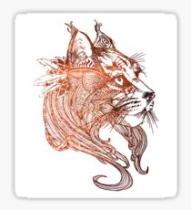 210x230 Bobcats Drawing Stickers Redbubble