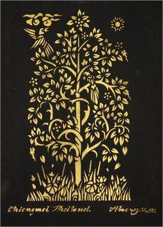 236x329 Bodhi Tree Drawing