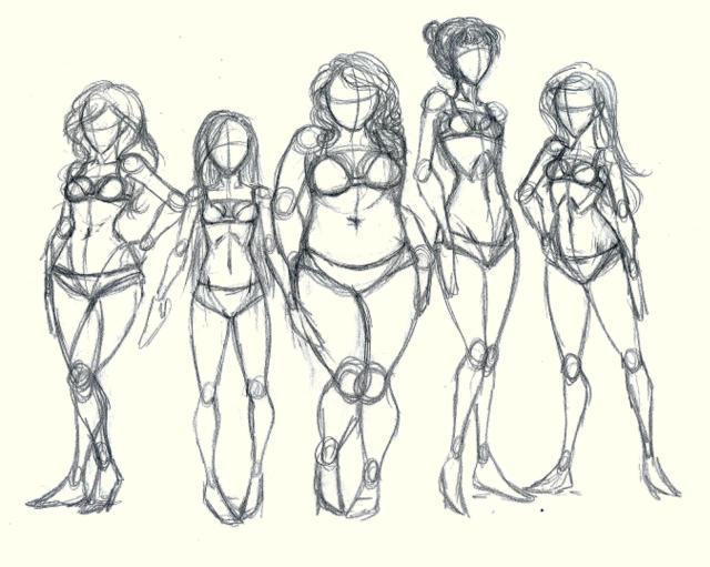 640x511 Body Types By Lisannexd