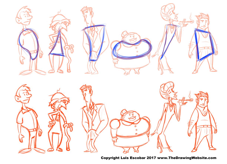 1224x889 Drawing Cartoon Bodies Cartoon Body Formulasthe Drawing Website