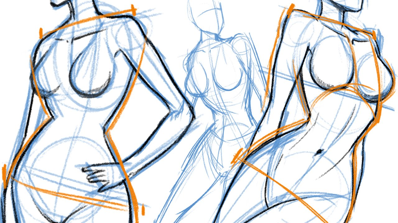 1280x720 How To Draw The Female Body