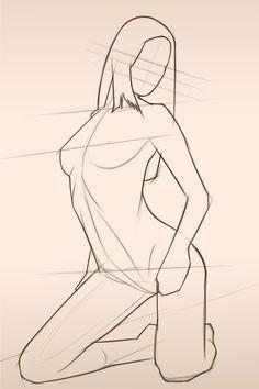 236x354 Chantal Female Body Form 2 Sketch Art Female