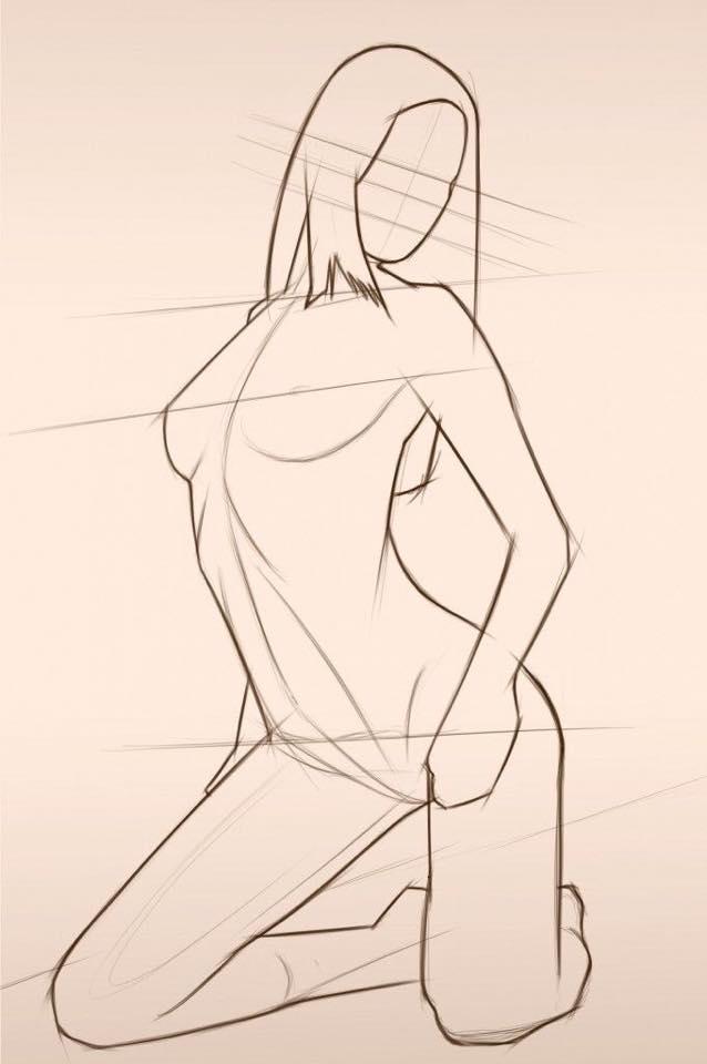 638x960 Drawing Anatomy Drawing Reference Anatomy