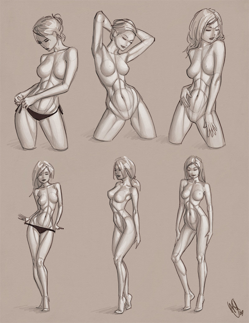 800x1035 Realistic Drawings Of Women's Body Realistic Drawings Of Women'S