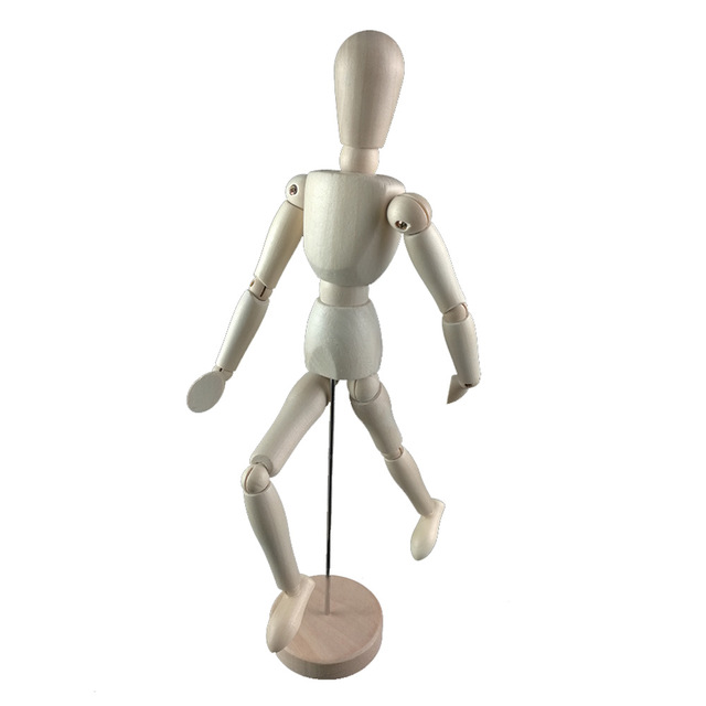 640x640 8inch 22cm Wood Human Body Model Figure Manikin Mannequin Artist