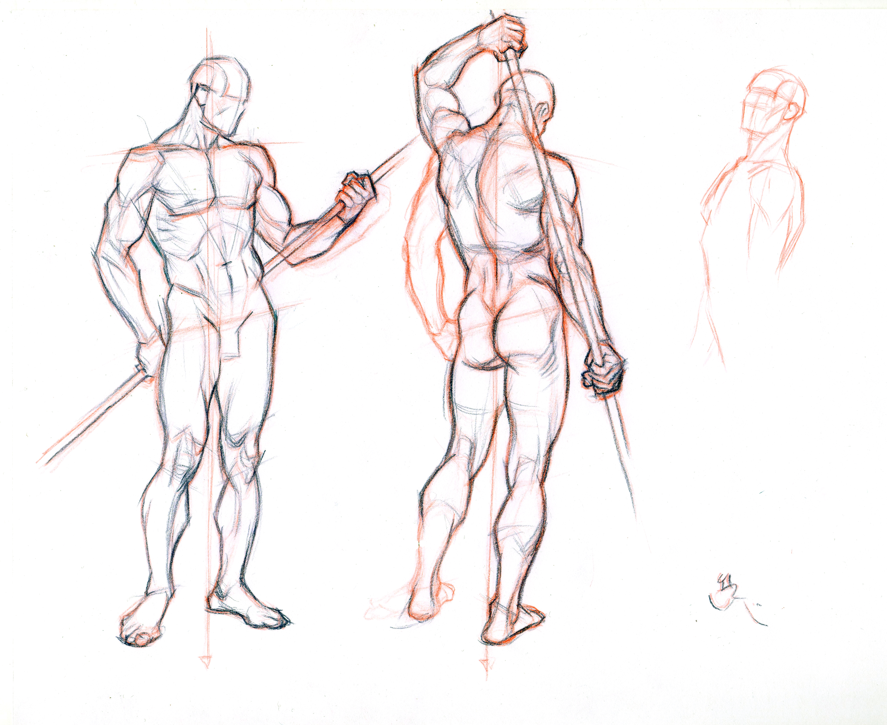 3000x2453 Figure Drawing Without A Model 2 By Abdonjromero
