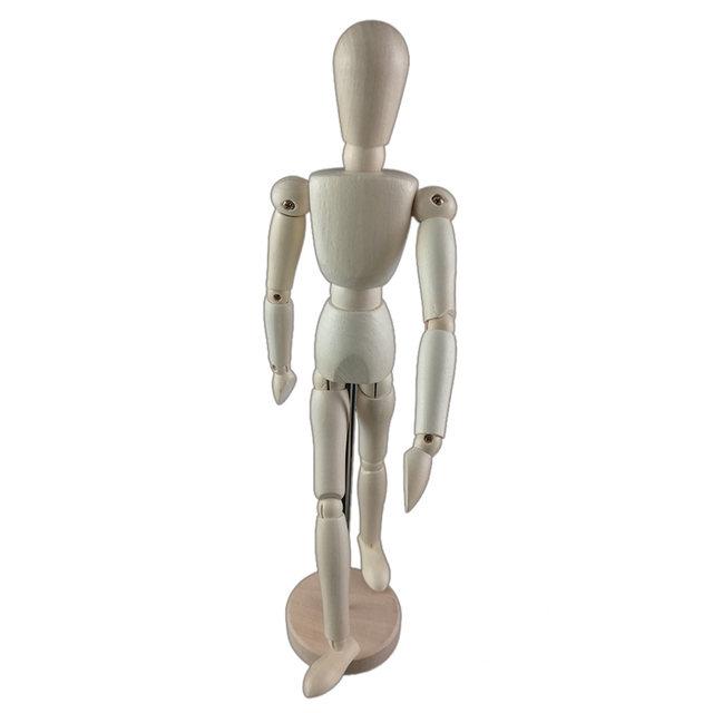640x640 Online Shop 8inch 22cm Wood Human Body Model Figure Manikin