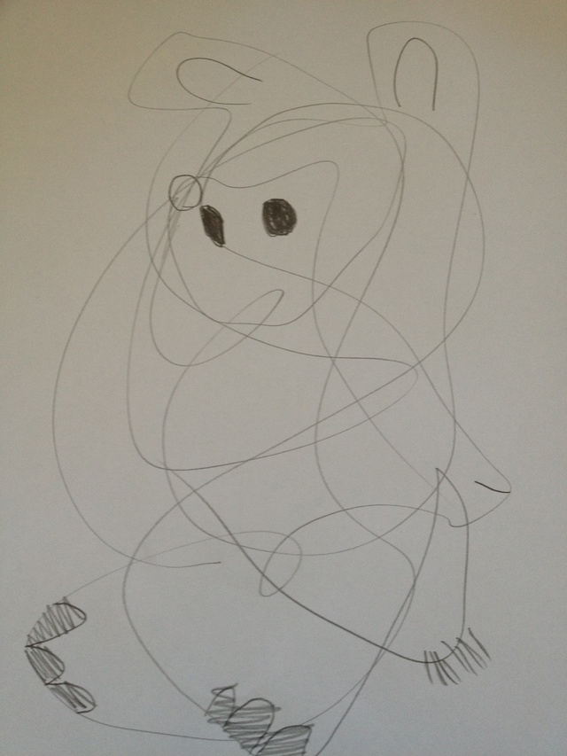 640x853 How To Draw A Picture Out Of A Scribble
