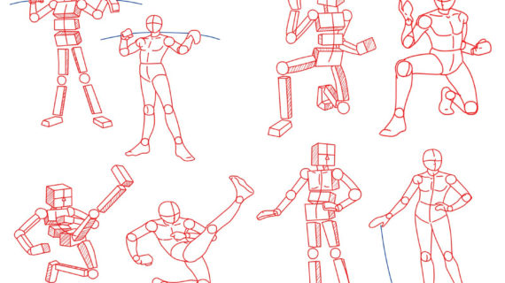 570x320 Anime Poses Drawing How To Draw Anime Poses, Step By Step, Anatomy