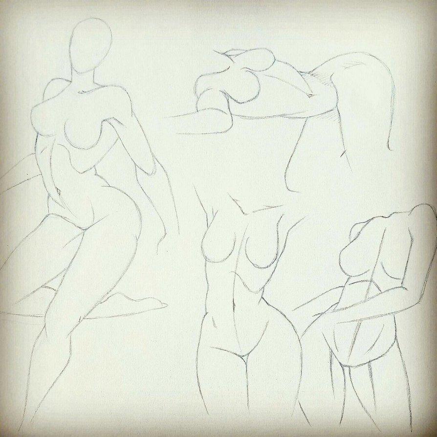 894x894 Female Anatomy Poses 2 By Koalatheartist