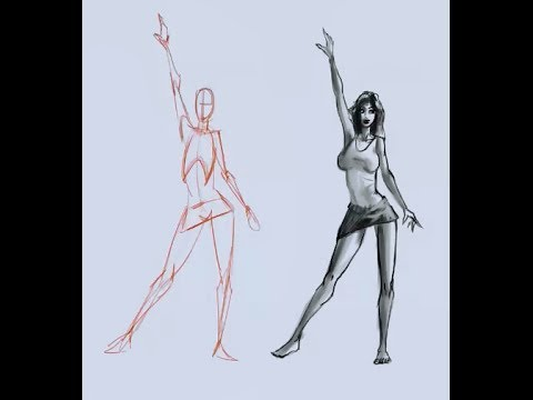 480x360 How To Draw The Female Figure From Your Mind