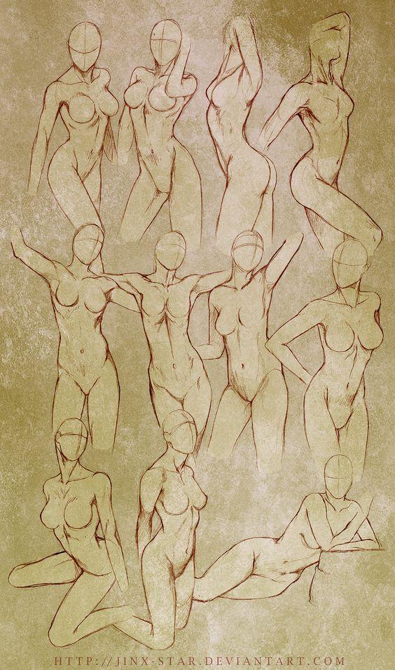 564x956 Female Body Study  By Jinx On @