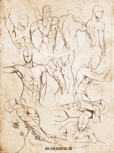 236x316 Male Body Study Vi  By Jinx On @