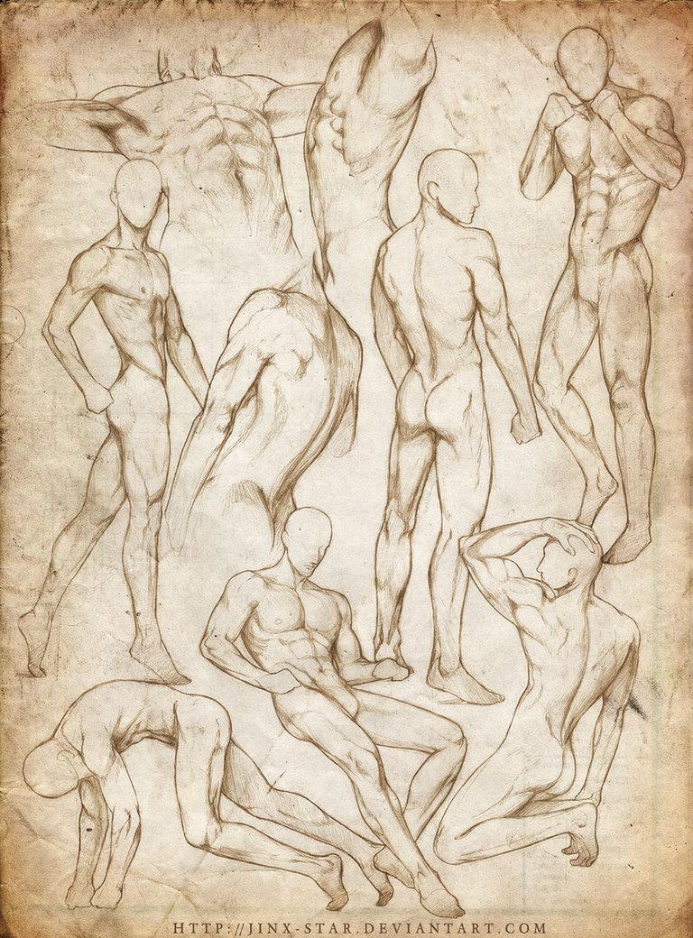 768x1040 Male Body Study Vii  By Jinx Star