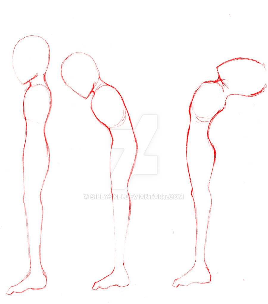900x1020 Drawing Side View Body Side View Figure Templates I Draw Fashion