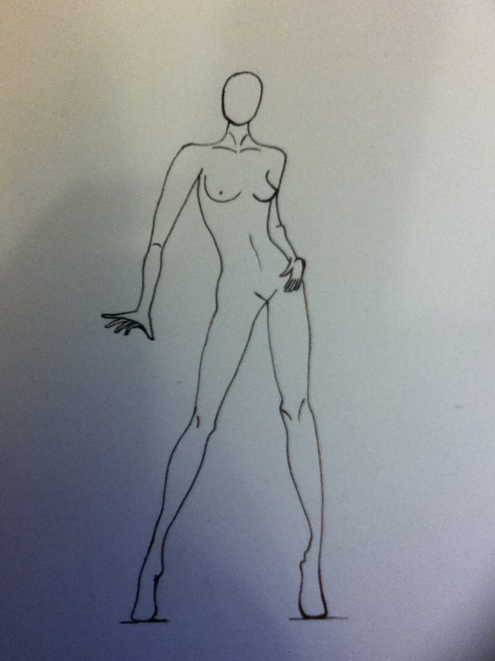 720x960 Female Fashion Body Template By Rosequarz