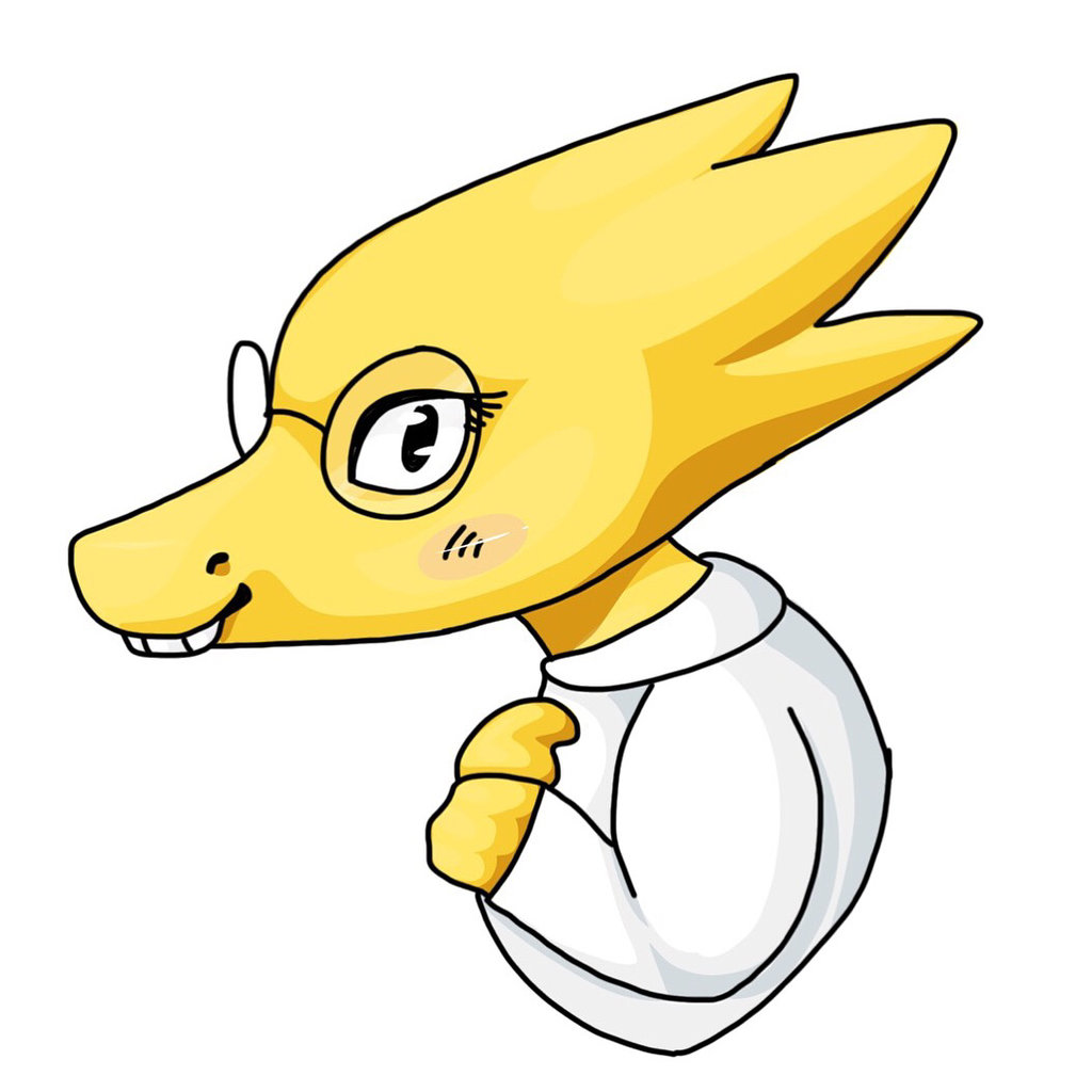 1024x1024 Ipad Drawing Alphys By Bolt The Human