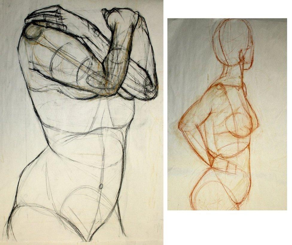 976x819 Life Drawing 2 By Bones Murphy