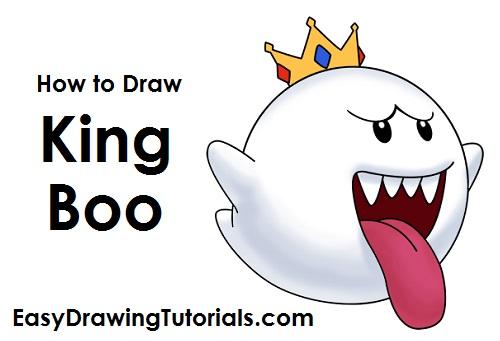 500x341 To Draw King Boo