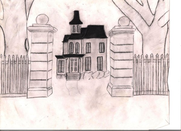 600x436 Boo Radley's House By Katherine4expression