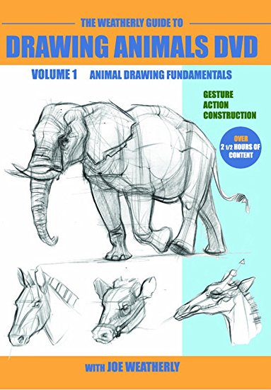 383x550 The Weatherly Guide To Drawing Animals Dvd Volume One