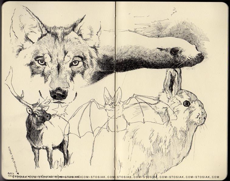 756x594 Animal Drawings Trollboy's Blog