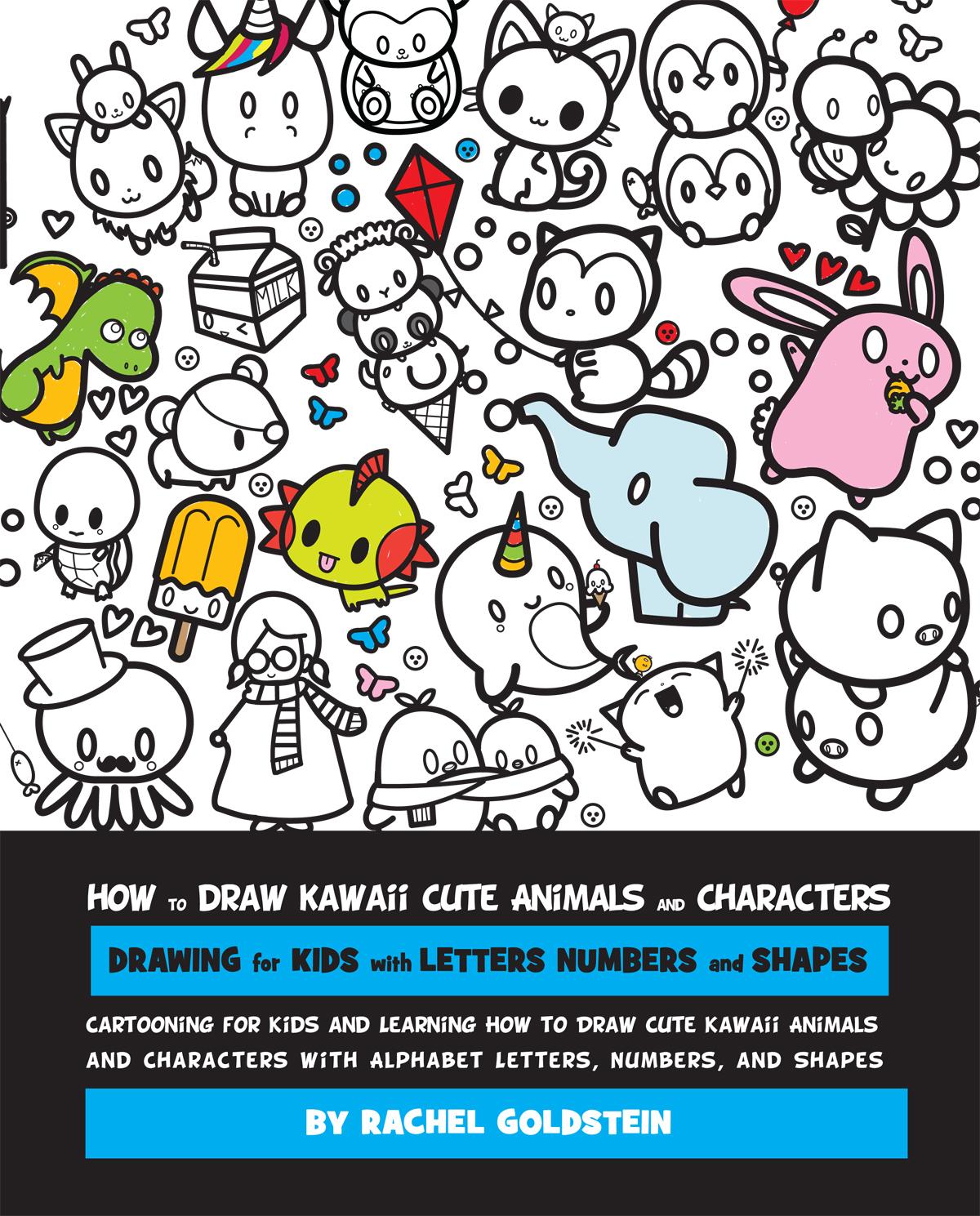 1200x1489 Drawing Kawaii Cute Animals And Characters